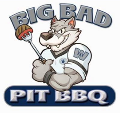 Big Bad W BBQ Pit Logo