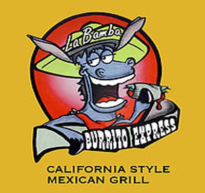 La Bamba Burrito Express Logo