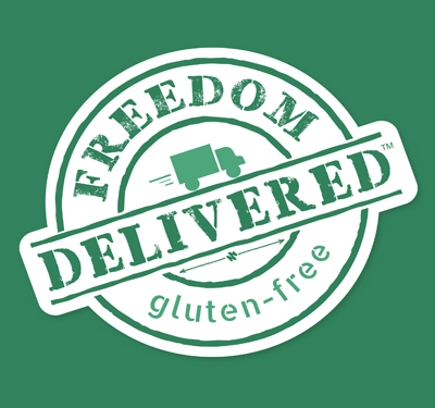 Freedom Delivered (Gluten Free) Logo
