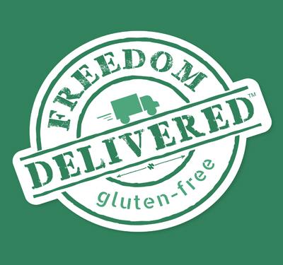 Freedom Delivered (Gluten Free) Logo