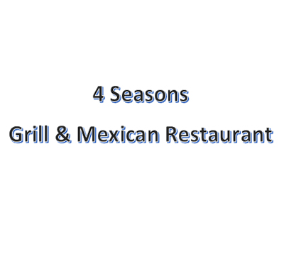 4 Seasons Grill & Mexican Restaurant Logo