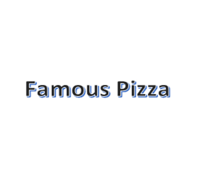 Famous Pizza Logo