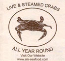 Al's Seafood Logo
