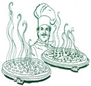 Crusty's Pizza & Pasta Logo