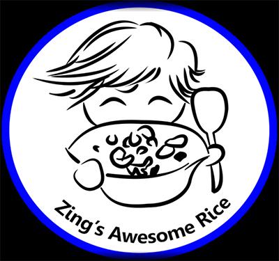 Zing's Awesome Rice Logo
