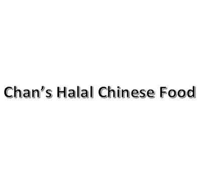 Chan's Halal Chinese Food Logo