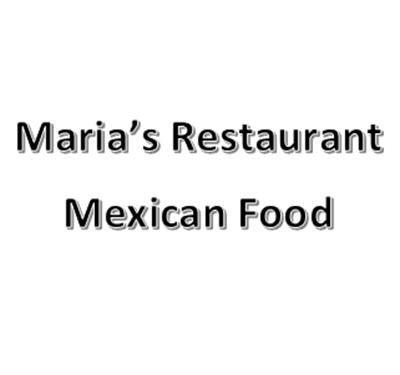 Maria's Restaurant Mexican Food Logo