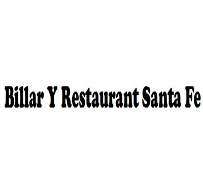 Billar Y Restaurant Santa Fe Logo