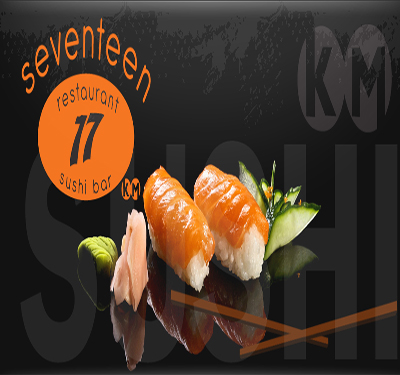 Seventeen Restaurant and Sushi Logo
