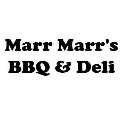 Marr Marr's BBQ & Deli Logo