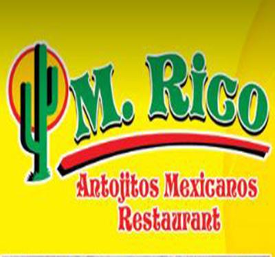 M. Rico Antojitos Mexicanos Restaurant Logo