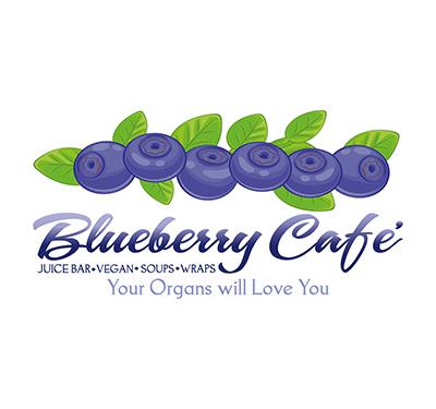 Blueberry Cafe' Juice Bar & Vegan Grille Logo