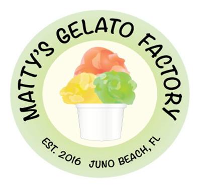Matty's Gelato Factory Logo