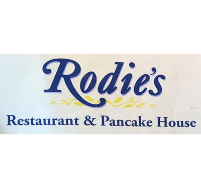 Rodie's Restaurant and Pancake House Logo