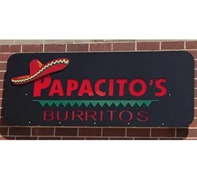 Papacito's Burritos Logo