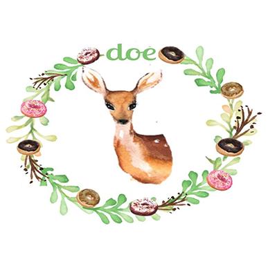 Doe Donuts Logo