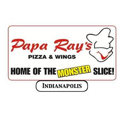 Papa Ray's Pizza & Wings Logo