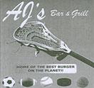 AJ's Bar & Grill Logo