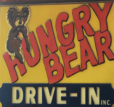 Hungry Bear Drive In Logo