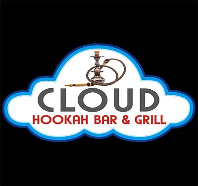 Cloud Hookah Bar and Grill Logo