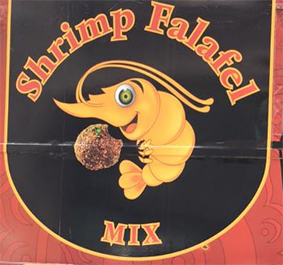 Shrimp Falafel Mix Logo