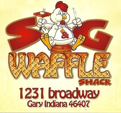 S & G Waffle Shack Logo