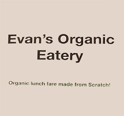 Evan's Organic Eatery Logo