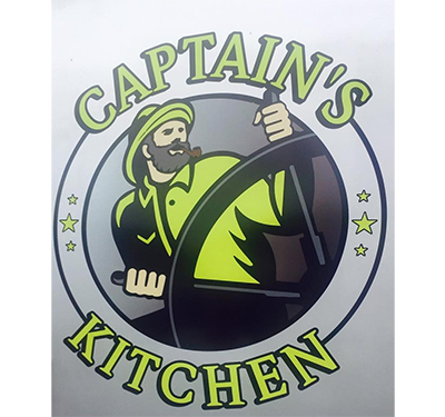 Captain's Kitchen Logo