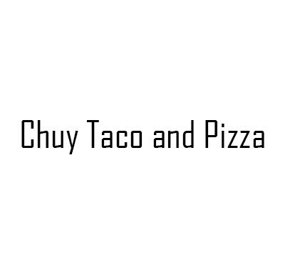 Chuy Taco and Pizza Logo