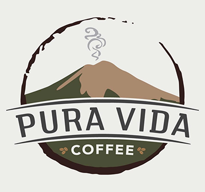 Pura Vida Coffee Logo