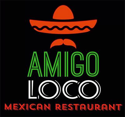 Amigo Loco Mexican Restaurant Logo