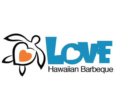 Love Hawaiian Barbeque Logo