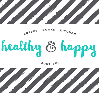 Healthy and Happy Cafe Logo