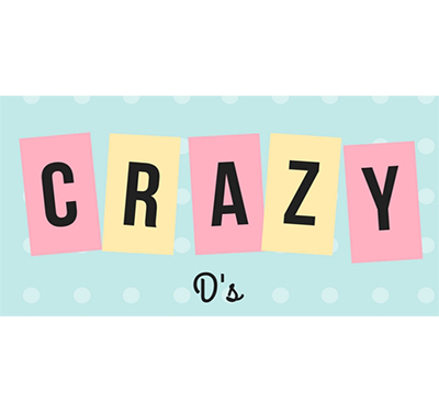 $25 Gift Certificate For $10 or $15 for $6 at Crazy D's.