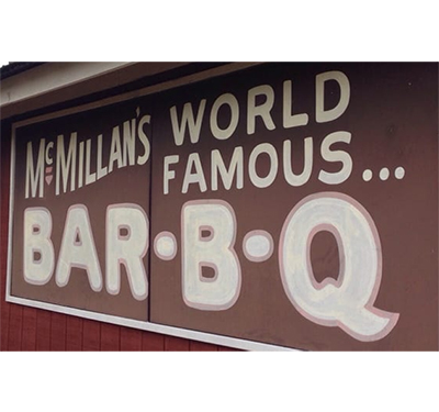 McMillan's Bar-B-Q & Catering Logo