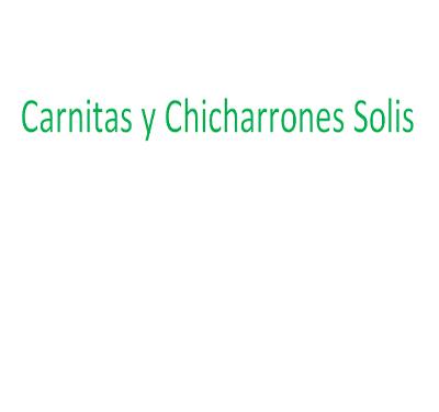 Carnitas y Chicharrones Solis Logo