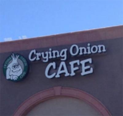 Crying Onion Cafe Logo