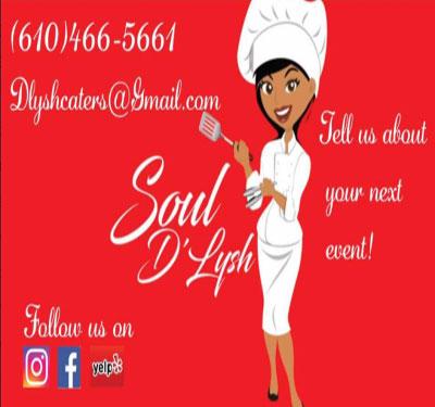 Soul D'Lysh Catering Logo