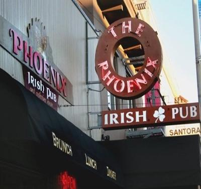 The Phoenix Irish Bar & Restaurant Logo