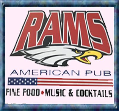 Rams American Pub Logo