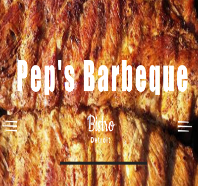 Pep's Barbeque Bistro Logo