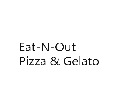 Eat-N-Out Pizza & Gelato Logo