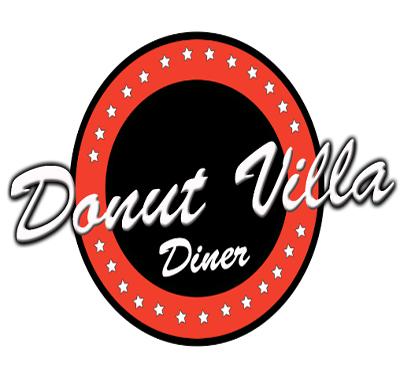 Donut Villa Diner Logo