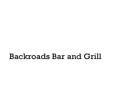 Backroads Bar and Grill Logo