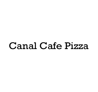 Canal Cafe Pizza Logo