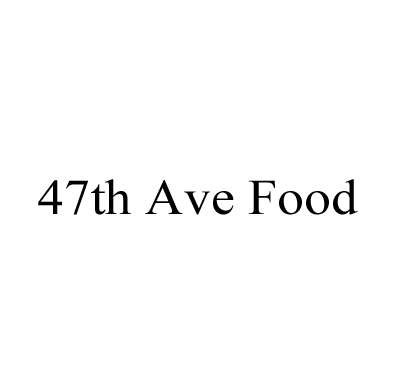 47th Ave Food Logo