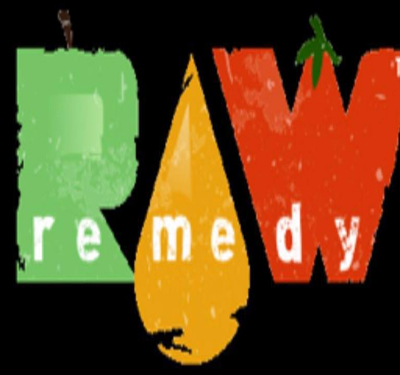 Raw Remedy Organic Juice and Raw Food Bar Logo