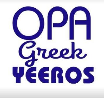 Opa Greek Yeeros Logo