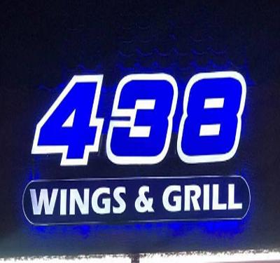 438 Wings & Grill Logo