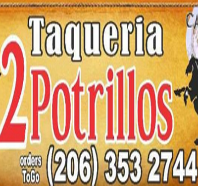Taqueria 2 Potrillos Logo